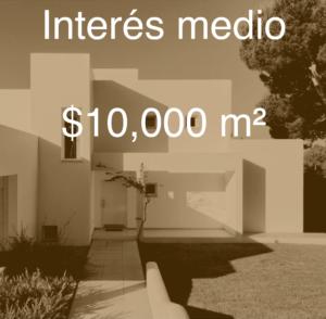 cuánto cuesta construir casa de interés medio en México en 2019