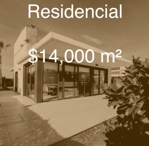 cuánto cuesta construir residencia en 2019
