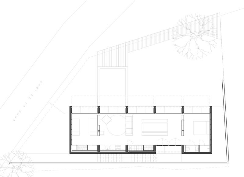 Diseños de casas moderna Plano de casa retina